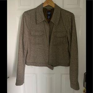 GAP tweed cropped Jacket